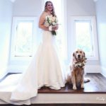 Meet the dog included as a flower girl in a wedding ceremony (Photos)
