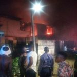No casualty as 3 Duplexes burns down in Gowon Estate, Lagos