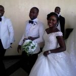 Photos from the church wedding of former catholic priest, Patrick Edet