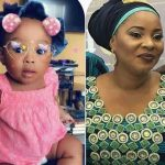 The daughter left behind by late actress, Moji Olaiya Is a year old today