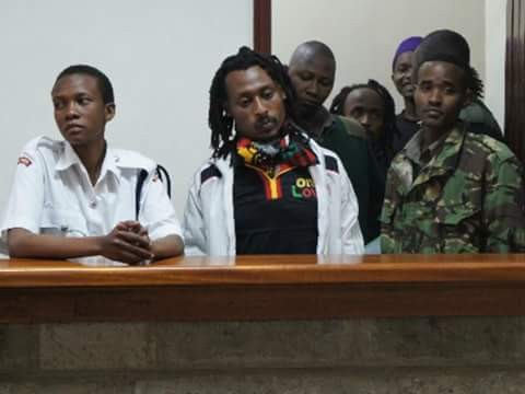 Drama in court as man arrested for possession of marijuana demands his charges be read in Rastafarian language